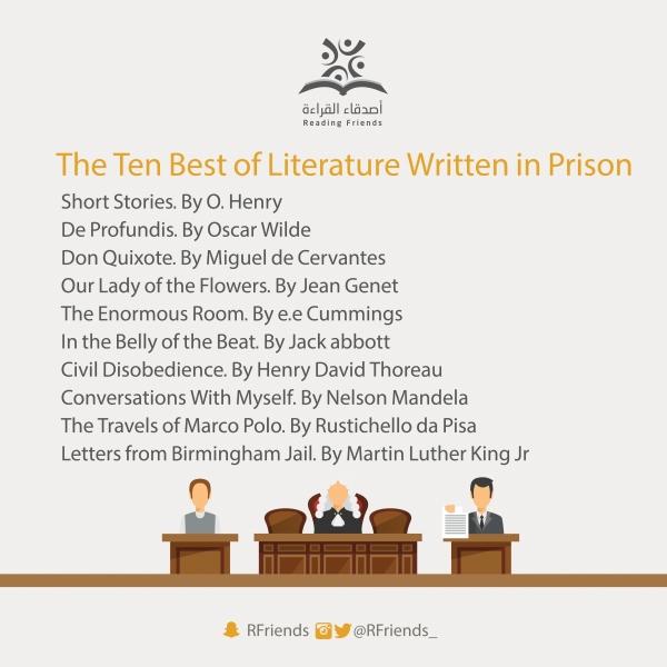 The Ten Best of Literature Written in Prison