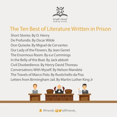 The Ten Best of Literature Written in Prison